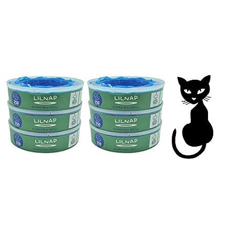 LILNAP – Nachfüllkassetten passend für Litter Locker II