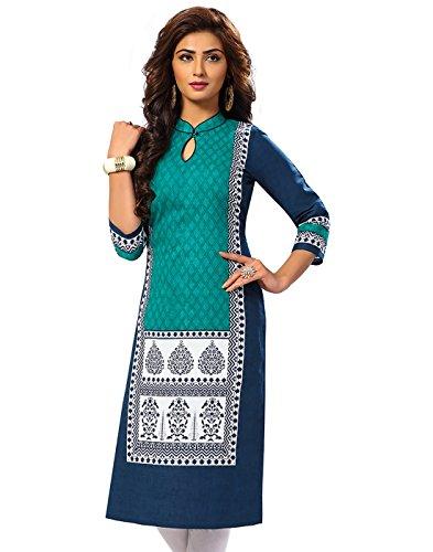 Jevi Prints Women's Dress Material (Saheli-1513_Green_Free Size)