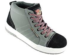 BullPower Leder Sneaker S3 Arbeitschuhe Art. 25611 Sicherheitsschuhe (45)