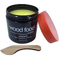 Tree&Co Wood Food Cera para Tablas de Cortar, Muebles y Juguetes para niños (Naranja sanguina - 180ml)