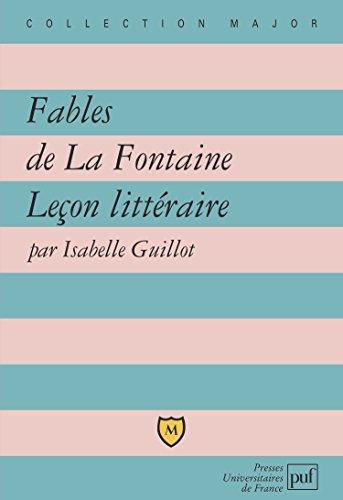 Fables de la Fontaine : Leçon littéraire