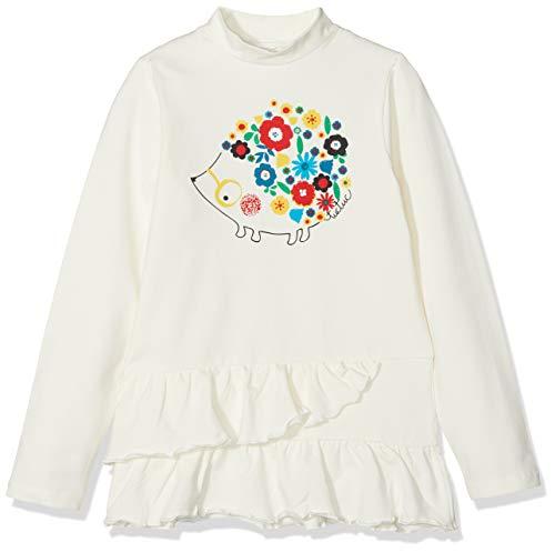 e7ab6c112a TUC TUC Prenda Cuello Cisne Folk, T-Shirt Bambina, Bianco (Blanco 65