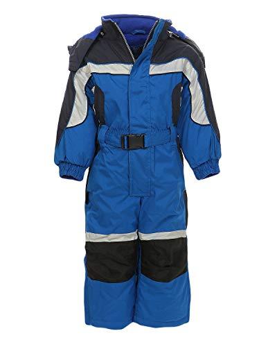 PM Kinder Outdoor Skianzug Snowboard für Jungen Mädchen Funktionsanzug Hardshell Schneeanzug Winter LB1118, blau, 116