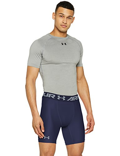 Kompression Running Shorts (Under Armour Hg Armour 2 Comp Shorts Herren Kurze Hose, Midnight Navy, M, 1289566)