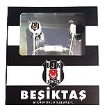 Besiktas Istanbul In Ear Kopfhörer mit Mikrofon Lautstärkenregelung Metallgehäuse Smartphone PC Notebook Tablet Headset Android