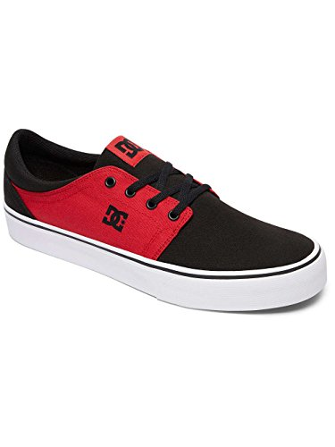 DC Shoes Trase Tx, Baskets mode homme Multi-Couleurs - Black/White/Red