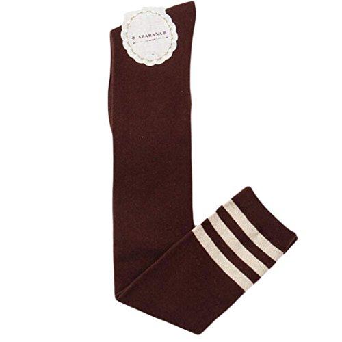 nkel hohe Socken Overknee Strümpfe Kniestrümpfe (Kaffee) (Schenkel-hoher Strumpf Kaffee)