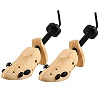 S&L Shoe Tree Stretcher Size 3-13 Unisex Wood Shaper Set of 2