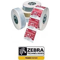 Zebra Z-Select 2000D, 102 x 25 mm - Etiquetas de impresora (102 x 25 mm, Color blanco, Transferencia térmica, 102 x 25 mm, 12 piezas)