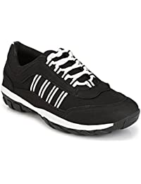 Shoe Island *POPULAR* Classic-X Sturdy Black Sports Shoes Shoes For Men