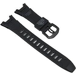 Casio Pro-Trek Ersatzband Resin schwarz PRG-110C PRG-110CJ 10340747