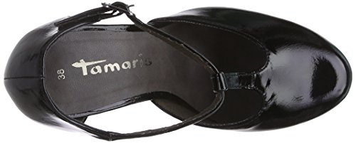 Tamaris 24428, Escarpins Femme Noir (black Patent 018)