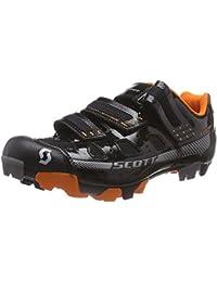 Scott MTB Comp - Zapatillas de Ciclismo de Material sintético para Hombre Negro Negro