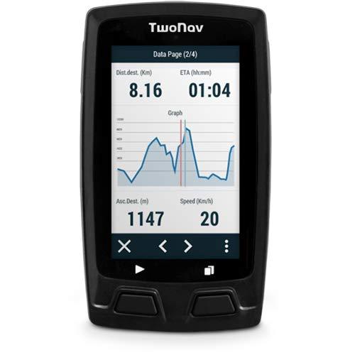 TwoNav Horizon Bike Gris - GPS Full Connect Ciclistas