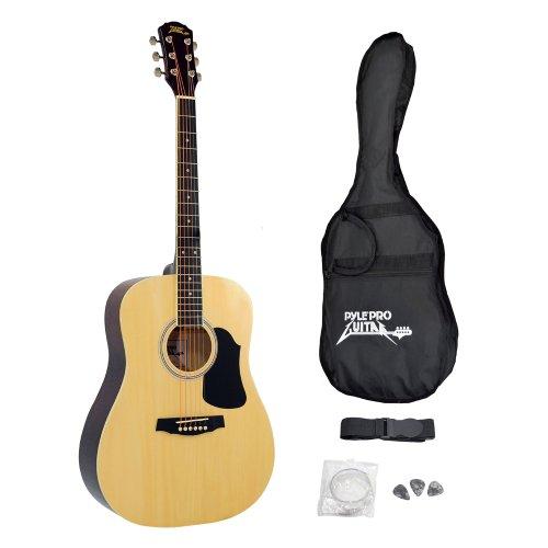 pyle-guitare-acoustique-professionnelle-a-cordes-housse-accessoires