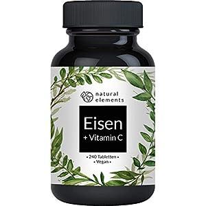 Eisen vegan Tabletten Vitamin C hochdosiert