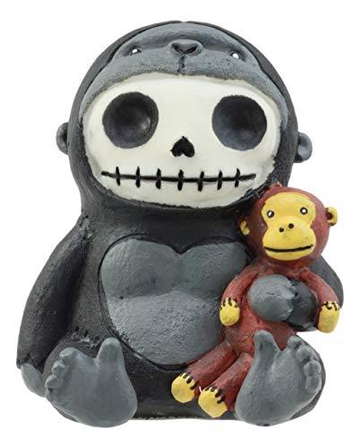 Toter Kostüm Affe - Furrybones Kongo Gorilla King Kong Cute Skelett Monster Ornament Figur