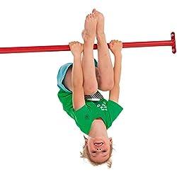 Gartenpirat Barre Gymnastique en métal 125 cm