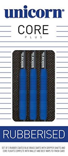 unicorn-core-plus-rubberised-blue-brass-steel-dart-25g