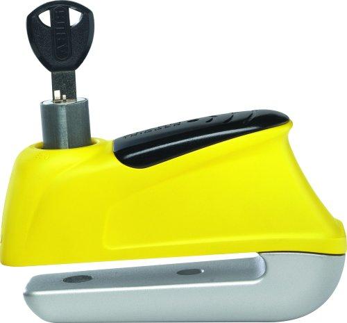 Abus 350 10559730 antifurto per freno a disco con allarme, giallo
