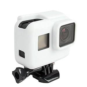 MASUNN Cadre De Caméra Housse Etui En Silicone Souple Pour Gopro Hero 5 Action Camera Accessoires