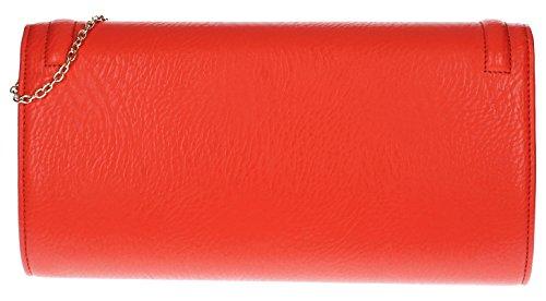 SwankySwans, Poschette giorno donna Rosso Red Red