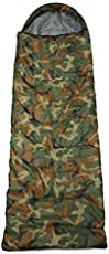 SHOPEE ALL SEASONS Good Quality Waterproof Adult Sleeping Bag for Camping, Hiking and Adventure Trips - Size: Adult (220 x 70 cm) - Color: Camouflage