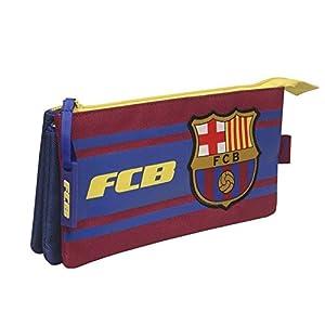 Portatodo triple bordado de Fc Barcelona (2/100)