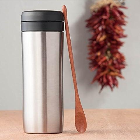 Espro Travel Press - French Press Travel Mug, Stainless Steel