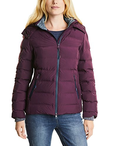 Cecil Damen Jacke 200159, Violett (Dark Berry 10970), Medium