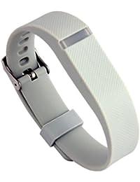 Malloom Muñequeras de recambio banda de reloj correa para Fitbit Flex pulsera Wristband Con Metal hebilla