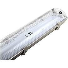 Pantalla Estanca 2 tubos Doble LED 120cm G13 14328