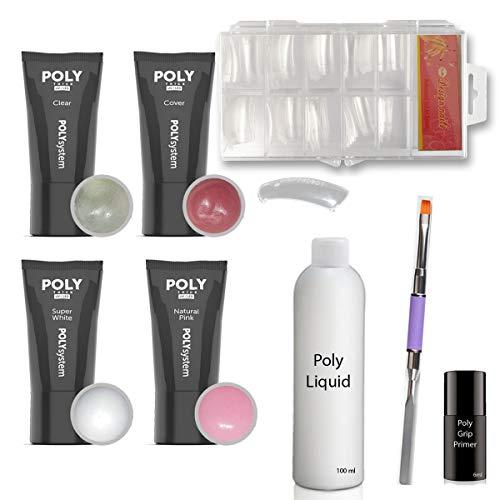 Poly Acryl Gel Set 2 - Dual Tip System -