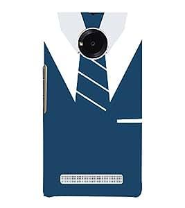 Shirt T-Shirt Tie Graphical 3D Hard Polycarbonate Designer Back Case Cover for YU Yureka Plus