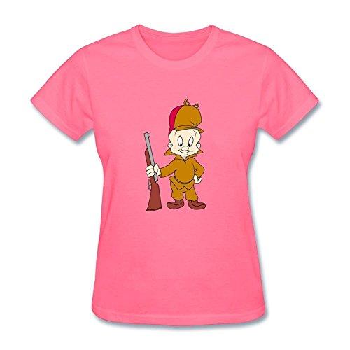 femmes-elmer-fudd-design-cotton-t-shirt-xx-large