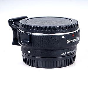 Commlite-Auto-Fokus-EF-NEX-EF-EMOUNT-Objektiv-Mount-Adapter-fr-Canon-EF-EF-S-Objektiv-an-Sony-E-NEX-Mount-33N5N5R7A7-A7R-Full-Frame-Farbe-schwarz