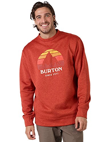 Burton Herren Oak Crew Sweatshirt BOSSA NOVA HEATHER