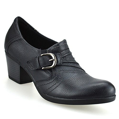 ladies-womens-leather-casual-mid-heel-smart-office-work-pumps-court-shoes-sizeuk-8black