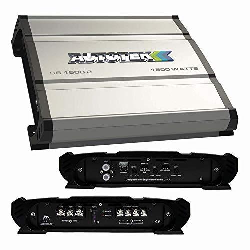 Autotek Super Sport Amplifier 1500 Watt 2 Channel