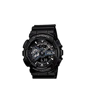 Casio G-Shock Analog-Digital Black Dial Men's Watch – GA-110-1BDR (G317)