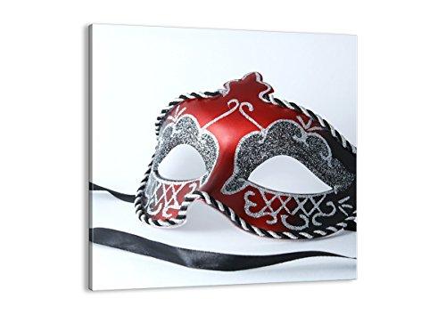 Bild auf Leinwand - Leinwandbilder - Einteilig - Breite: 70cm, Höhe: 70cm - Bildnummer 2380 - zum Aufhängen bereit - Bilder - Kunstdruck - - Rio Karneval Kostüm Bilder