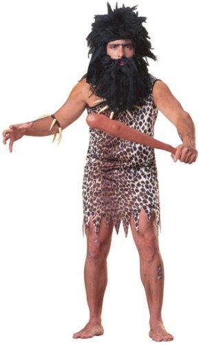 Höhlenmensch Kostüm für Erwachsene Karneval Fasching - Höhlenmenschen Kostüme