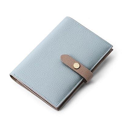 ZLR Mme portefeuille New Section Portefeuille en cuir pour dames Porte-monnaie en cuir