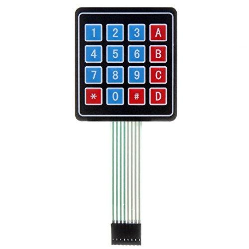 Universial 16 Key 4 x 4 Matrix Array Switch Tastatur Keypad Keyboard Schlüsselschalter Modul für Arduino