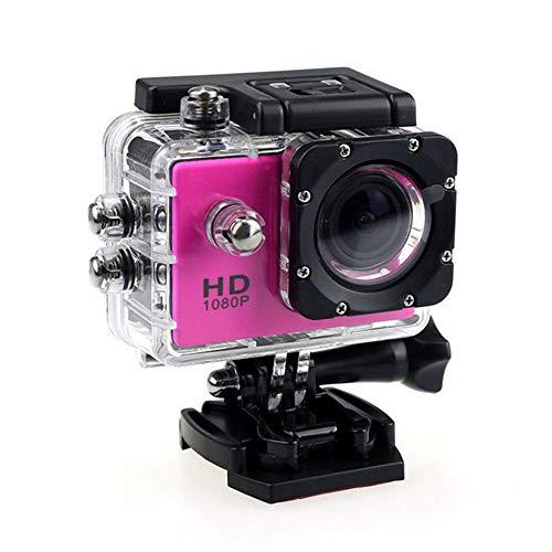 Baibang Rosa, Outdoor-DV-Recorder, HD 1080P-Kamera, wasserdichte Kamera, Umweltschutz-ABS-Material, 900 MAh, Größe 59 X 41 X 24,5 Mm Aktion (Color : Pink) (Rosa-kamera-recorder)