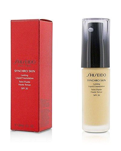 Shiseido Synchro Skin Lasting Liquid Foundation SPF 20 (Golden 3) 30 ml