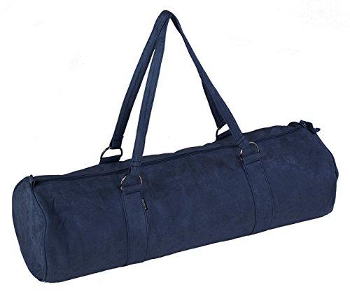 Yogistar Yogatasche Style - Zip - extra Big - Velour - 80 cm Dark-Blue
