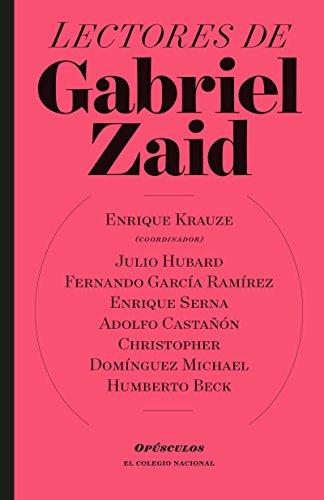 Lectores de Gabriel Zaid (Opúsculo) por Enrique  Krauze