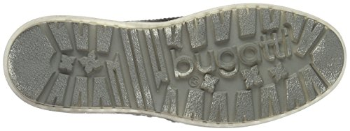 Bugatti K31315, Scarpe da Ginnastica Alte Uomo Nero (Schwarz)