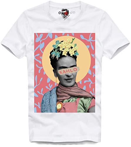 E1Syndicate T Shirt Frida Kahlo Picasso Dali MURAKAMI KAWS Andy Warhol